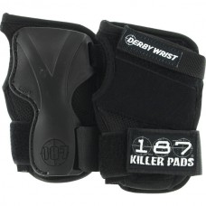 187 Derby Wrist Guard Med Black