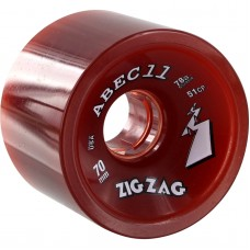 Abec11 Classic Zigzags 70mm 78a Red