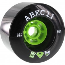 Abec11 Superflys 107mm 74a Black