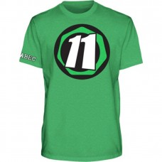 Abec 11 Core 11 S/S T-shirt MED Green