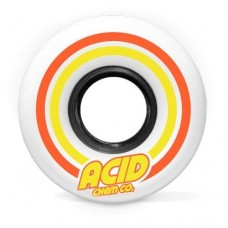 Acid Pods Conical Wheels 53mm White