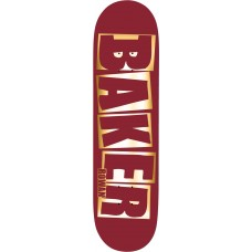Baker RZ Brand Name Red Foil B2 8.38 x 32 Deck
