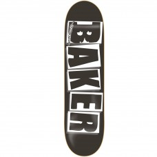 Baker Brand Logo Black White Deck 8.25