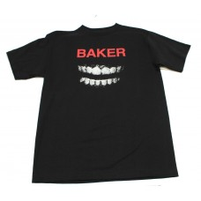 Baker Fangs S/S T-shirt MED Black