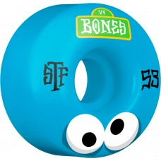 Bones Googly Blues 53mm STF