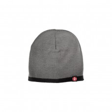 Bones Beanie Knit W/Swiss Tag Charcoal/Black