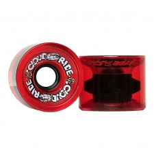 Cloud Ride Cruisers 69mm 78a Clear Red