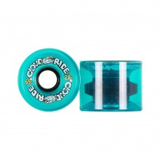 Cloud Ride Cruisers 69mm 78a Clear Turquoise