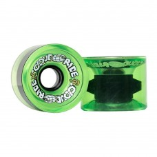 Cloud Ride 69mm Translucent Neon Green Cruisers Wheels