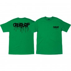 Creature Blood S/S T-shirt MED Kelly Green