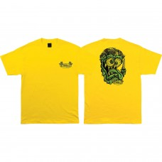 Creature Grease Monkey S/S T-shirt MED Yellow