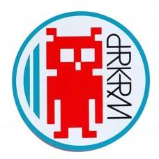 Darkroom Invader Sticker