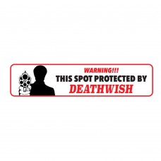 Deathwish Protected Bumper Sticker