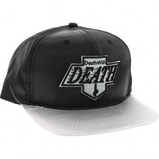 Deathwish Death Kings Snap Back Hat Black Grey