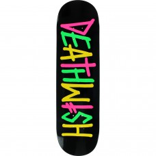 Deathwish Deathspray Multi Og Deck 8.0 Black Pink Green Yellow