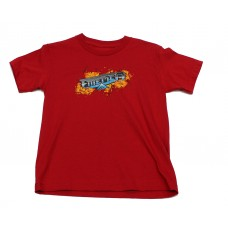 Emerica Pyre Youth S/S T-shirt YL Red