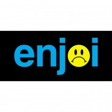Enjoi Frowny Face Decal