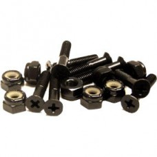 Essentials Black 1 Inch Phillips Bolts