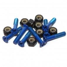 Essentials Dark Blue 1 Inch Phillips Bolts