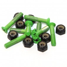 Essentials Green 1 Inch Phillips Bolts