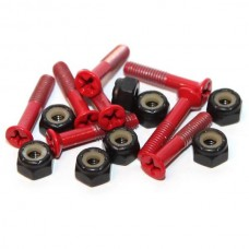 Essentials Red 1 Inch Phillips Bolts