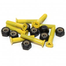 Essentials Yellow 1 Inch Phillips Bolts