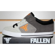 Fallen Ripper Dark Charcoal Grey Orange 8.5