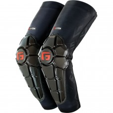 G-Form Pro-X2 Elbow Pad Med Black Black Red Emboss