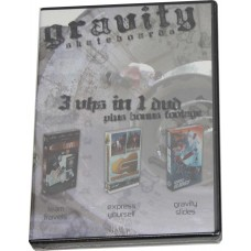 Gravity 3 In 1 DVD