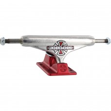 Independent Trucks 129mm Hollow Vintage Cross Silver Red