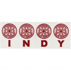 Independent Four Of A Kind Decal 6.5x2.5