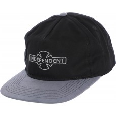 Independent O.G.B.C. Embroidery Hat Adj Black Grey