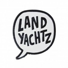 Landyatchz Bubble Logo Pin