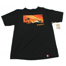 Landyatchz Sunset Mounts S/S T-shirt MED Black