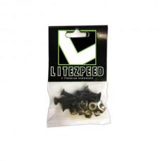 Litezpeed Black 1' Hardware
