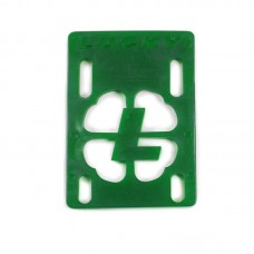 "Lucky Green 1/8"" Risers Single"