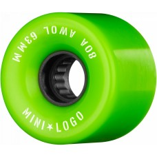 Mini Logo A.W.O.L 63m X 80 Green