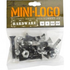 Mini Logo 7/8 Hardware Black