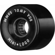 Mini Logo A.W.O.L 59mm X 80 Wheels Black