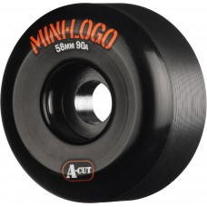Mini Logo A Cut 52m X 101 Black