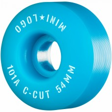 Mini Logo C-Cut 2 54mm X 101 Wheels Blue