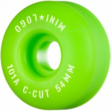 Mini Logo C-Cut 2 54mm X 101 Wheels Green