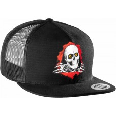 Powell Cap Trucker Pp Ripper Black