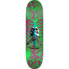 Powell Skull And Sword Pink Green 247 K20 8 X 31.45 18 Deck