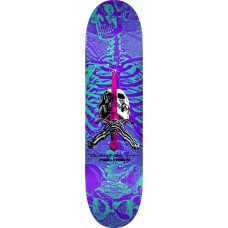 Powell Skull And Sword Turquoise Purple 248 K20 8.25 X31.95 18 Deck