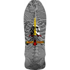 Powell Geegah Skull And Sword 9.75 179 Sp3 Silver Deck