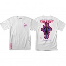 Primitive Dbs Goku Black Rose SS Tshirt Med White