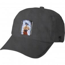 Primitive Goku Ultra Instinct Washed Hat Adj Black