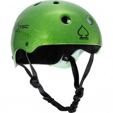 Protec Classic Candy Green Flake Med Helmet