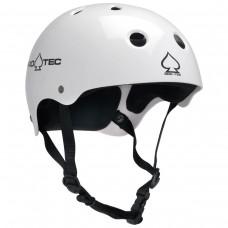 Protec Cpsc Classic Gloss White LG Helmet